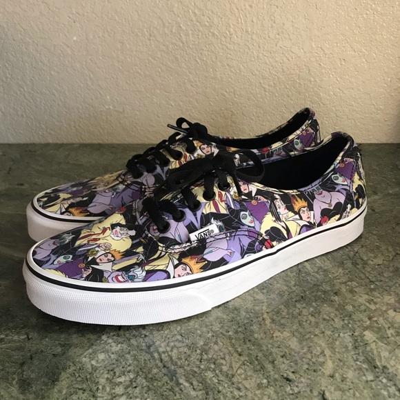 9439e3317e New! Vans Disney Authentic Villain X shoes sz 11